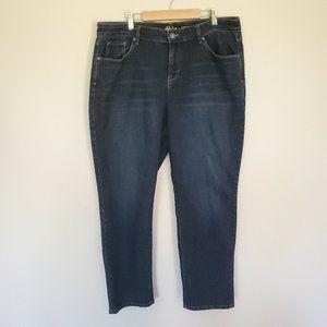Style & Co curvy boyfriend jeans indigo size 14